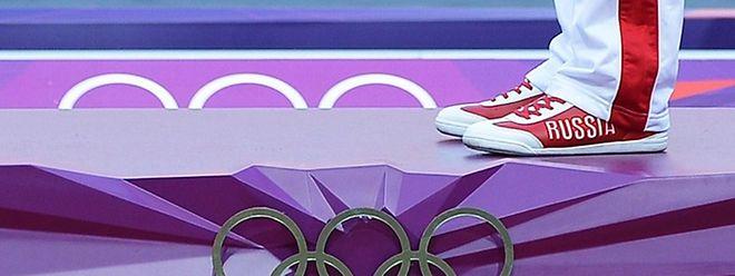 Russlands Olympia-Teilnahme steht auf der Kippe.