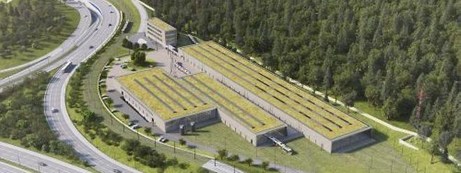 Trois bâtiments composeront le futur centre