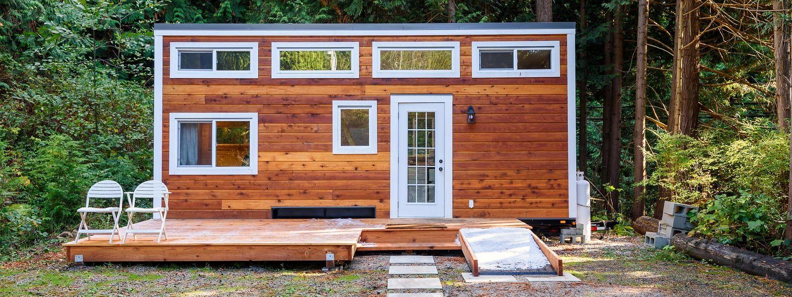 """Kleines Heim für große Ansprüche: Dort, wo Platzmangel herrscht oder die Preise für Grundstücke ins Unermessliche steigen, sind """"Tiny Houses"""" besonders gefragt."""