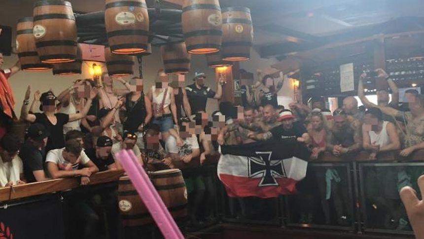 Neonazis störten Konzert in Ballermann-Lokal