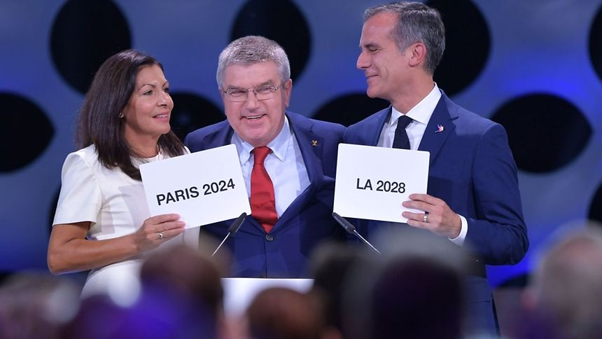 Paris 2024 et Los Angeles 2028, sans surprise...