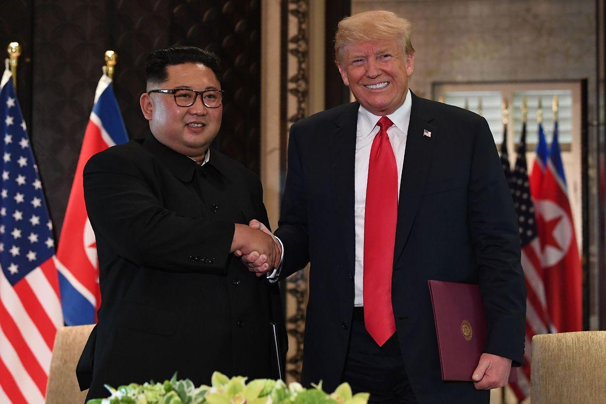 La glace semble avoir fondu: les deux hommes finissent l'entretien avec le sourire.