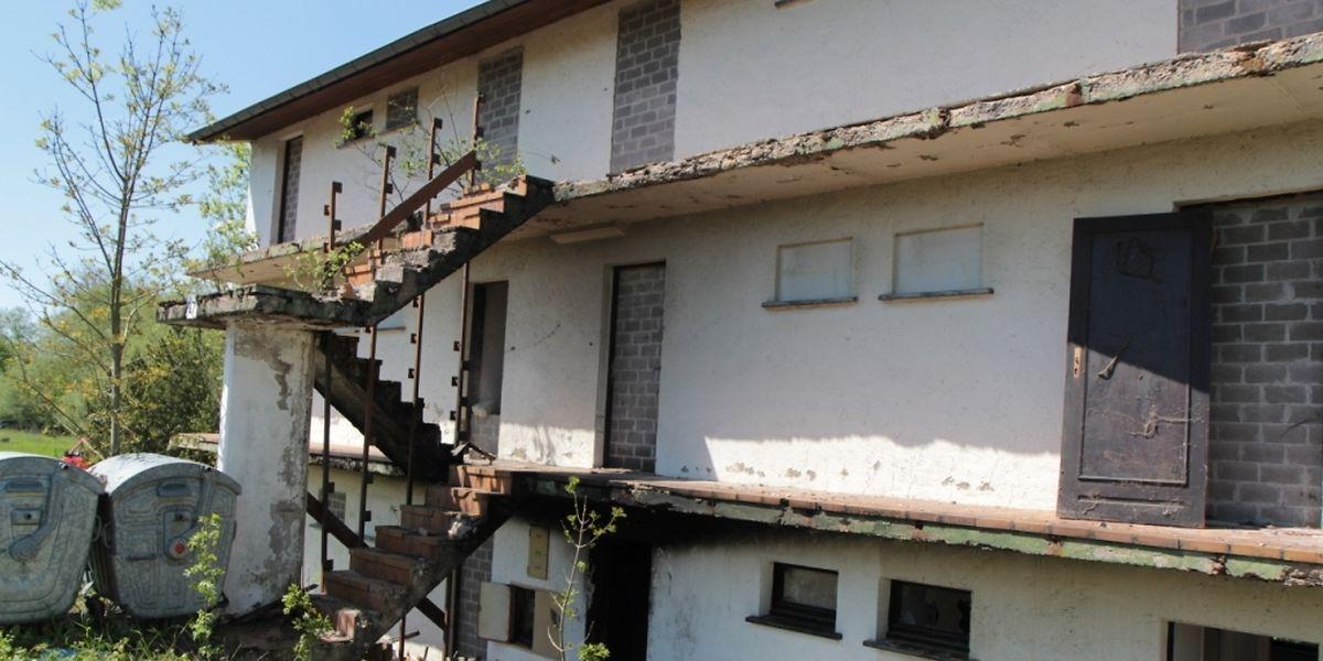 Das Haus war verwahrlost und seit langem nicht mehr bewohnt.
