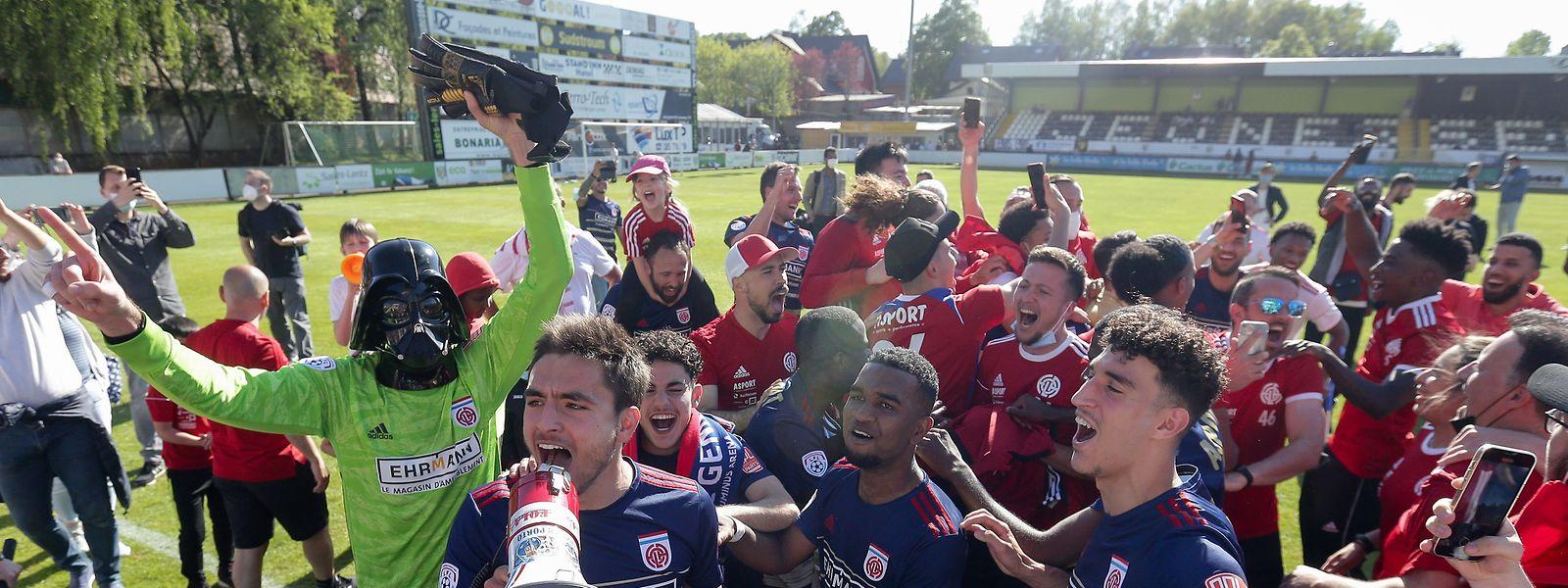 Fola feiert den achten Meistertitel der Vereinsgeschichte.