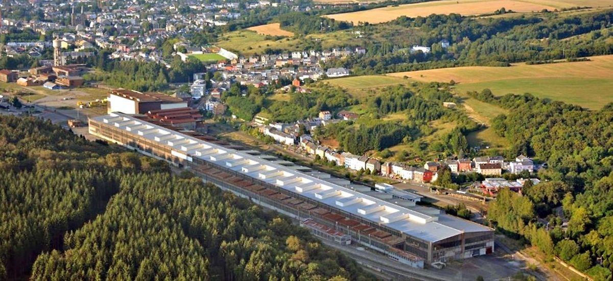 L'ancien laminoir de Dudelange est aussi long que la Grand-Rue à Luxembourg.