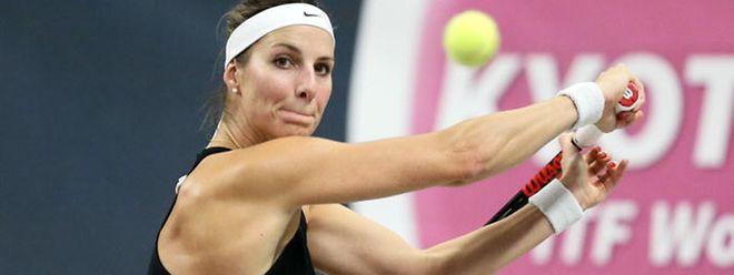 Trois matches: trois revers. Mandy Minella a de nouveau chuté contre Fionna Ferro.