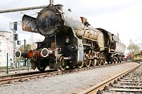 Lok 5621 im Depot Luxemburg Lok 5621 auf Abstellgleis / Foto: Lucien WOLFF