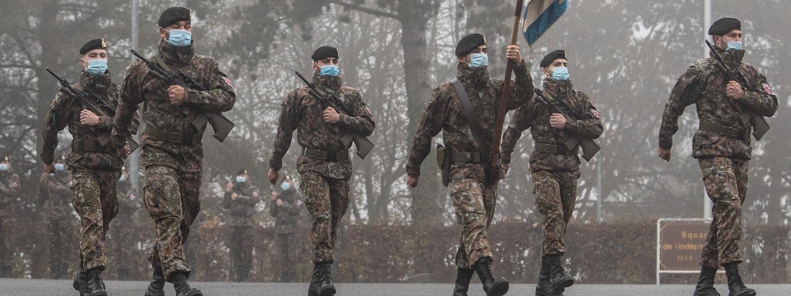 L'armée nationale va voir ses rangs se garnir.