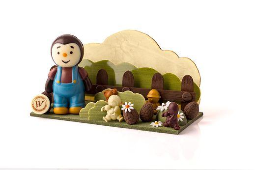 T'Choupi tout en chocolat chez Hugo&Victor