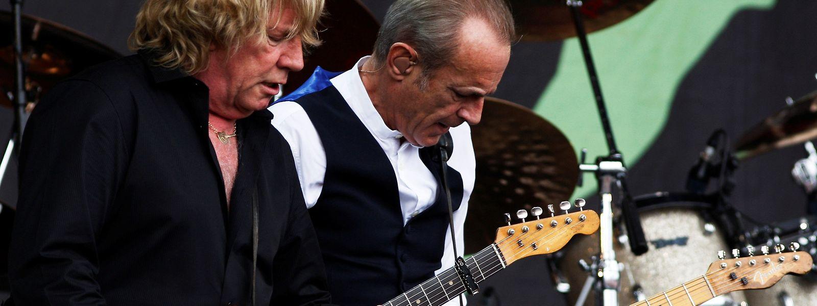 Britische Rockikonen: Rick Parfitt (.) und Francis Rossi von Status Quo.