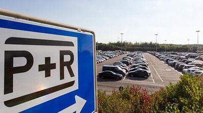 """Wer sein Fahrzeug künftig länger als einen Tag auf den """"P&R"""" Sud  und Kockelscheuer abstellt, muss zahlen."""