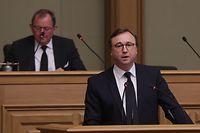 POL - Débats Budget 2019,  André Bauler, Foto: Chris Karaba/Luxemburger Wort