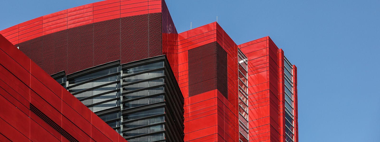 Das Gebäude von RBC in Esch/Alzette.