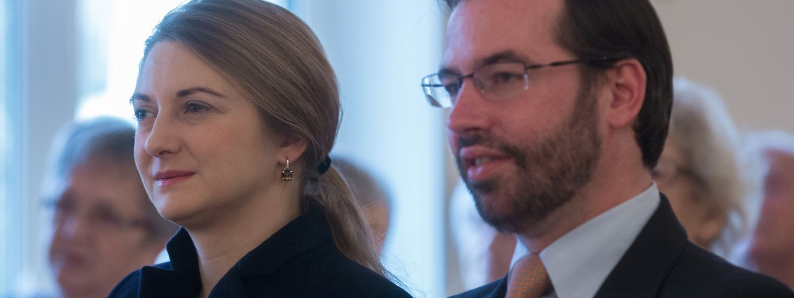 "Das erbgroßherzogliche Paar beim Konzert der Fondation ""Ecouter pour Mieux s'Entendre"""