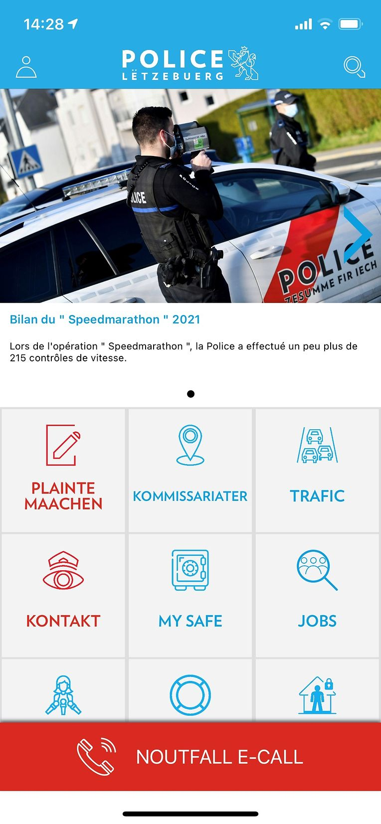 Das neueste Update der Polizei-App bietet den Nutzern mehrere neue Funktionen.