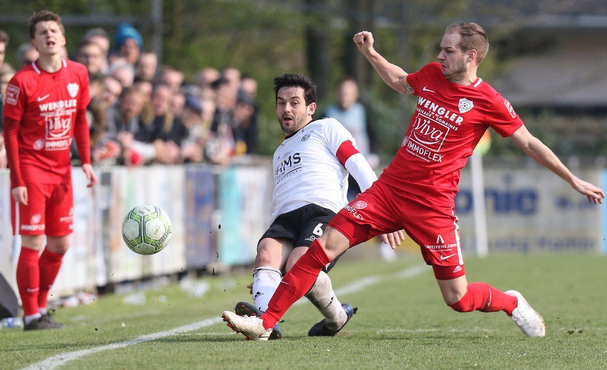 L'état d'esprit irréprochable de Paulo Arantes n'a pas suffi au RM Hamm Benfica pour terrasser le Victoria de Daniel Bartsch.