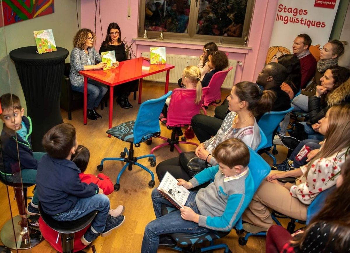 The new book was launched at Cafe Bovary and Languages.lu over the weekend Photo: Bobbo Hallengren