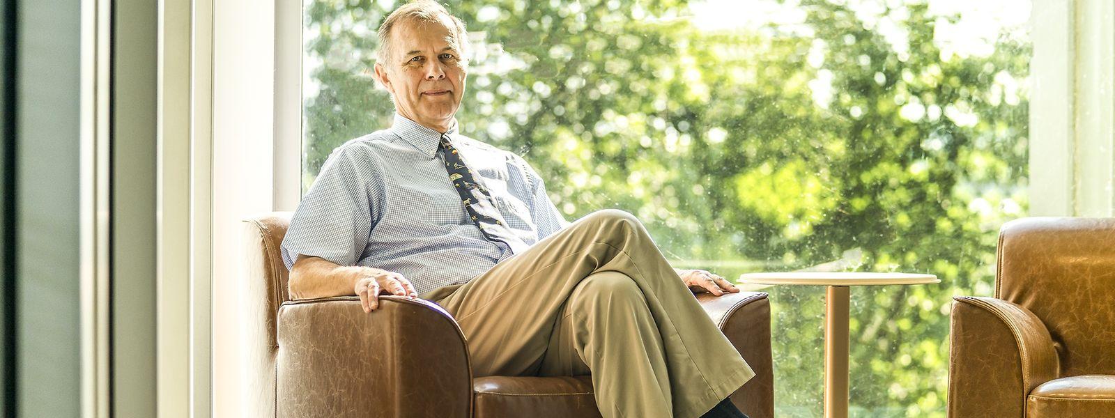 François Elvinger leitet ein Labor mit rund 220 Wissenschaftlern und Technikern.