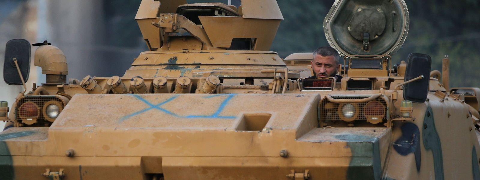Die Militäroffensive der Türkei stößt international auf scharfe Kritik.