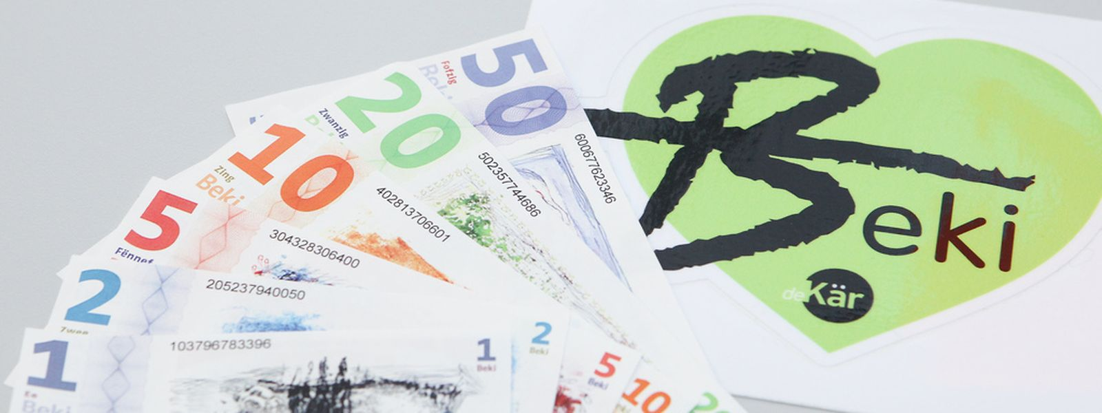 """Seit dem 1. Januar 2013 kann man den """"Beki"""" als komplementäres Zahlungsmittel im Redinger Kanton nutzen."""