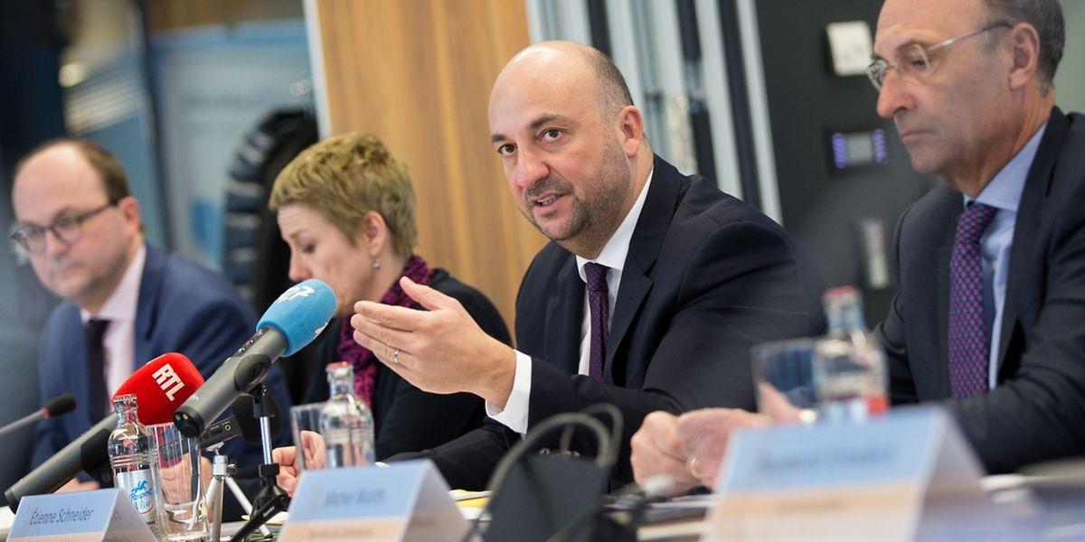 Etienne Schneider will Luxemburger Unternehmen in der Lieferkette von großen internationalen Firmen besser positionieren.