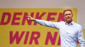 Christian Lindner foi o candidato Partido Democrático Liberal
