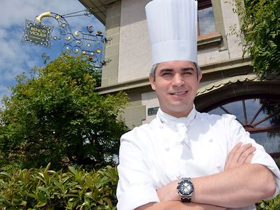 This file photo from 2012 shows Benoît Violier, chef of the Restaurant de l'Hôtel de Ville in Crissier near Lausanne, Switzerland.