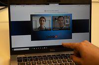 Wi , Wagner Health und GCore Labs , medizinische Plattform eConsult ,  Foto:Guy Jallay/Luxemburger Wort