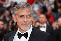 """ARCHIV - 12.05.2016, Frankreich, Cannes: George Clooney kommt zur Premiere des Films «Money Monster». (zu dpa """"Clooney legt bei Boykott-Aufruf gegen Sultan von Brunei nach"""") Foto: Guillaume Horcajuelo/EPA/dpa +++ dpa-Bildfunk +++"""