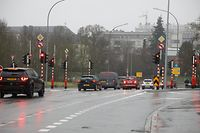Lokales, Ampelradar, Verkehr, Mobilität, Hollerich, Kreuzung Foto: Anouk Antony/Luxemburger Wort