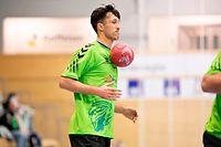 Vladimir Temelkov (Käerjeng 2) / Handball, AXA League Männer, Käerjeng - Düdelingen / 07.10.2020 / Bascharage / Foto: Christian Kemp