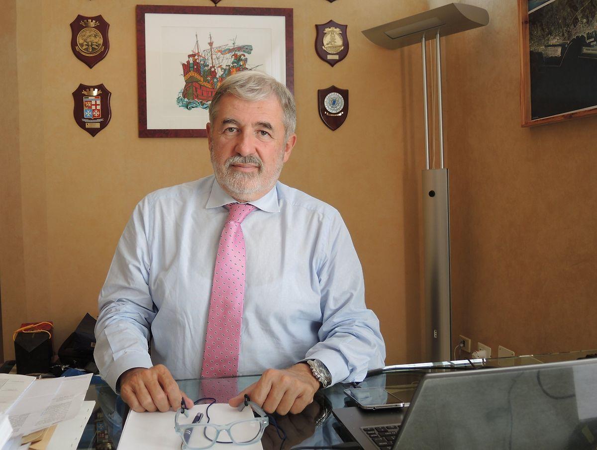 Genuas Bürgermeister Marco Bucci will, dass Genua schnellstmöglich eine neue Brücke bekommt.