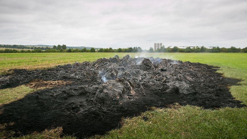 Le pyromane a-t-il de nouveau agi à Mondorf?