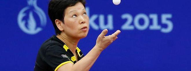 Ni Xia Lian ist die älteste Luxemburger Olympiateilnehmerin aller Zeiten.