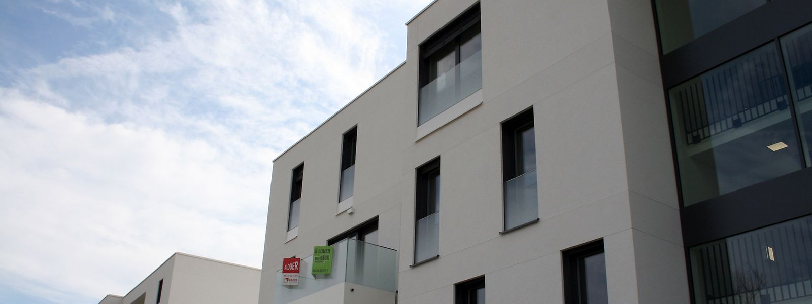 Un immeuble à Cessange.