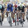 Cycling - The 104th Tour de France cycling race - The 213.5-km Stage 7 from Troyes to Nuits-Saint-Georges, France - July 7, 2017 - Quick-Step Floors rider Marcel Kittel of Germany cycles to win on the finish line. REUTERS/Christian Hartmann