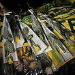 A Nantes, des centaines de fans ont rendu hommage à Emiliano Sala.