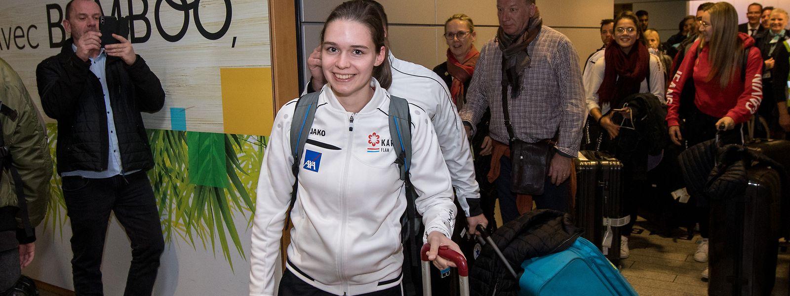 Europameisterin Jenny Warling ist wieder zurück in Luxemburg.
