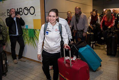 Luxemburg empfängt seine Europameisterin