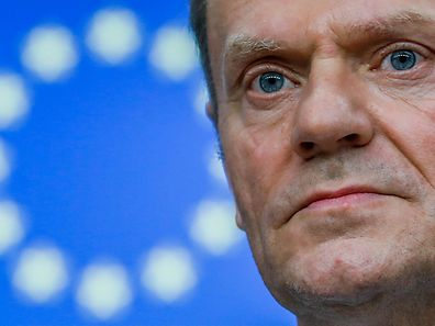 """European Council President Donald Tusk said the priority was to create """"certainty and clarity"""" for European Union citizens and businesses"""