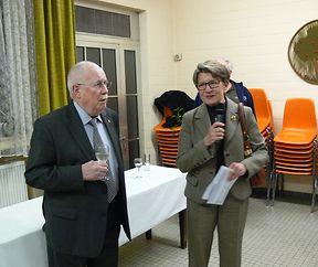 Treffen der ehrenamtlichen Helfer der (ehemaligen) Pfarrgemeinschaft Bonneweg.