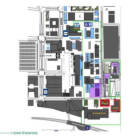 Área em que vai ser realizada a simulação do ataque