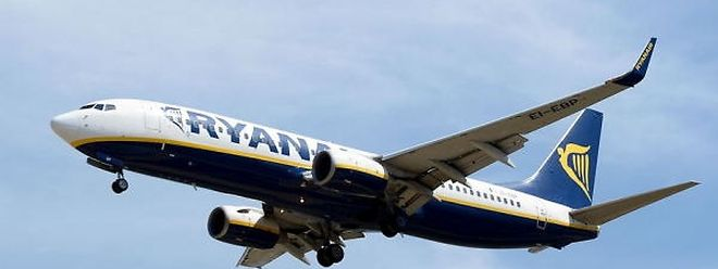 A Ryanair vai inaugurar a rota Luxemburgo-Madrid em Março de 2017