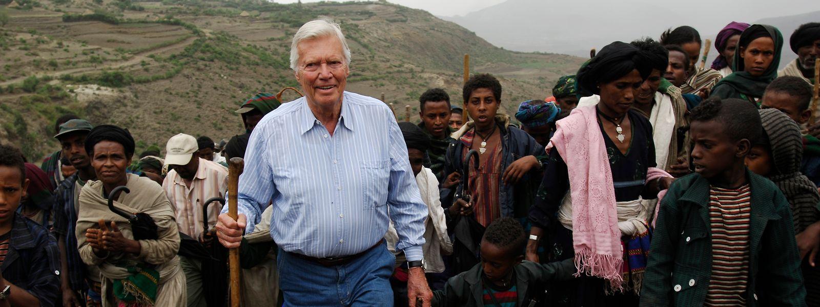 Karlheinz Böhm – hier im Jahr 2006 – setzte sich seit den 1980er-Jahren persönlich für die Menschen in Äthiopien ein.