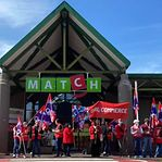 OGBL manifesta-se em frente ao Match de Dudelange contra abertura aos feriados