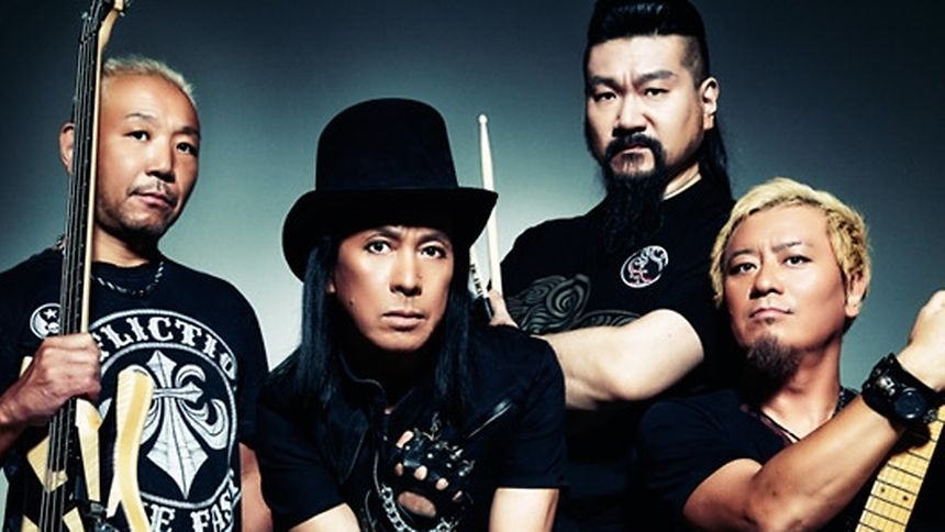 """Die japanischen Metaller von """"Loudness"""" mussten unverrichteter Dinge wieder abreisen."""