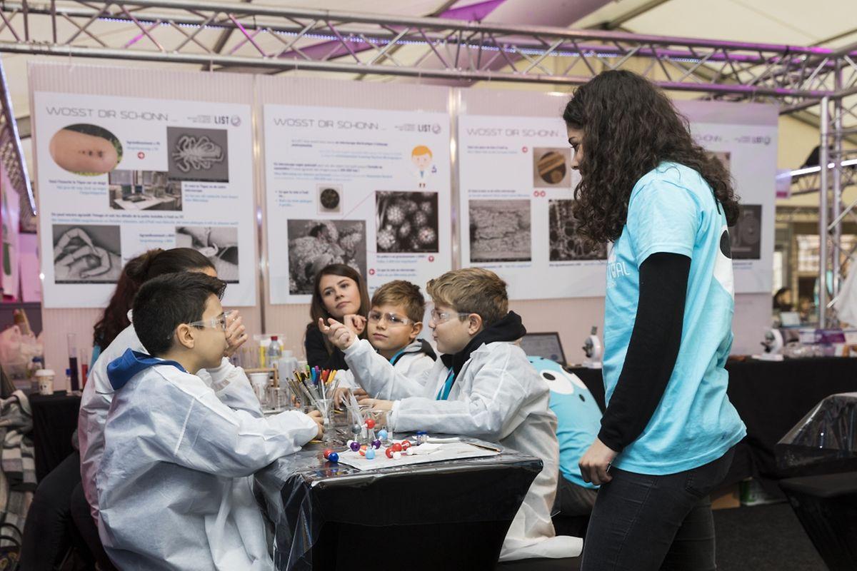 Das Science Festival begeistert Jung und Alt.