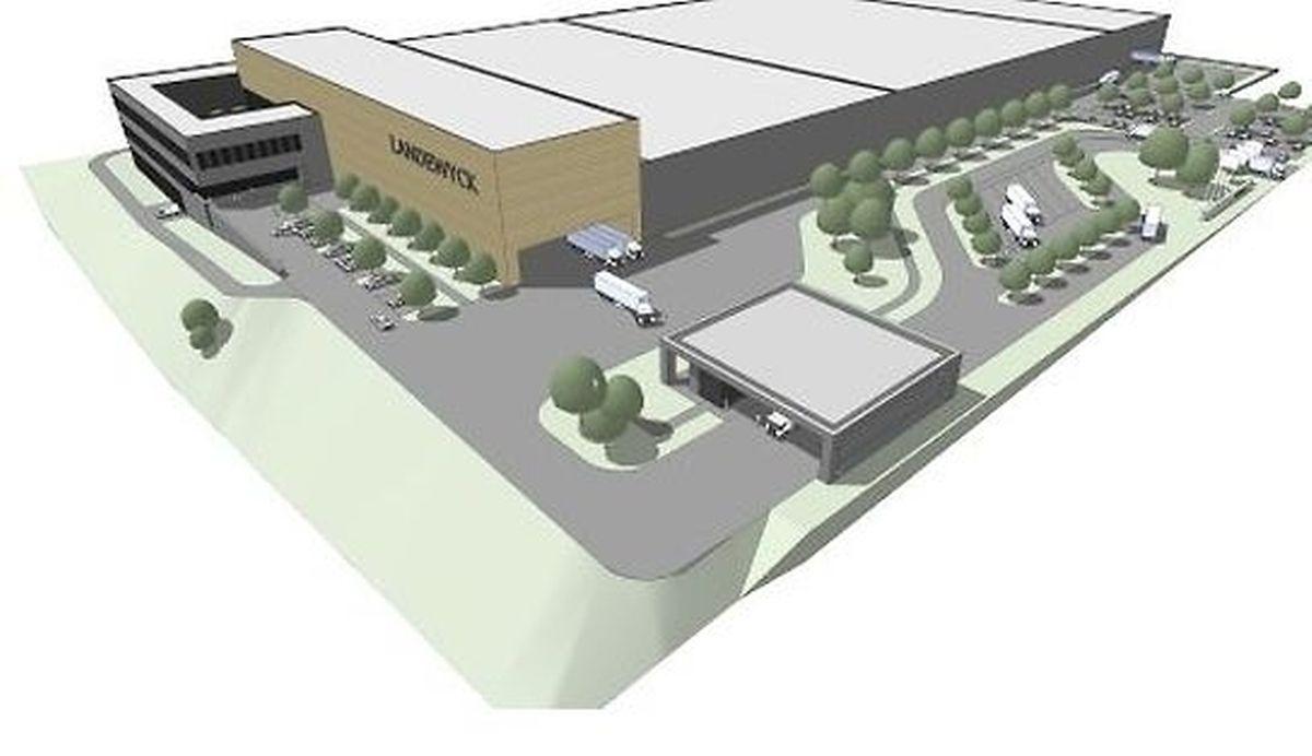 La nouvelle usine du groupe.