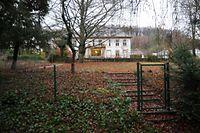 Der Tatort in Mühlenbach. Hier spielte sich der Überfall auf die Luxusuhrenhändler ab.