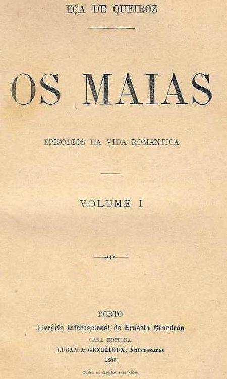 Capa da primeira edição da obra publicada em 1888.
